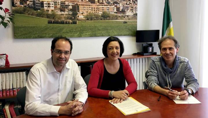 Ajuntament i Vilanova Comerç rubriquen el seu compromís amb la promoció i dinamització del comerç local