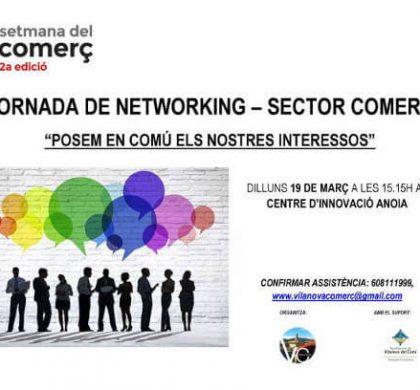 Jornada de treball i contactes de Vilanova Comerç en el marc de la segona edició de la Setmana del Comerç