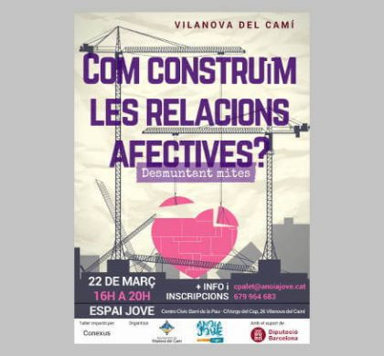 Joventut organitza un taller per fomentar les relacions afectives i igualitàries