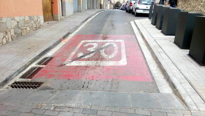 AVÍS | Dilluns es tallarà l'accés de vehicles a la cruïlla entre Major i St Hilari per obres en aquesta via