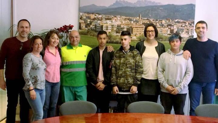 l'INS fan créixer el Projecte Morera en el que enguany hi participen 9 joves vilanovins