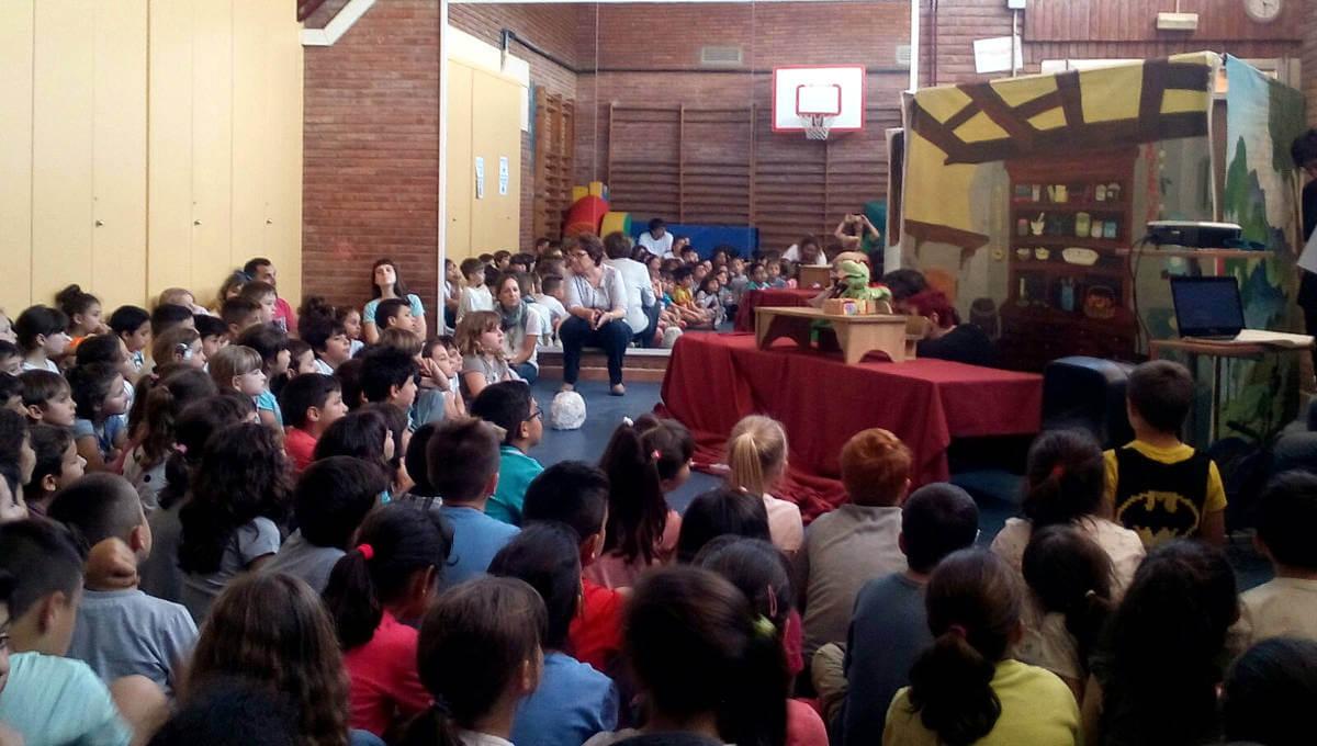 L'AFADA presenta a l'Escola Joan Maragall 'El tresor més gran del món'