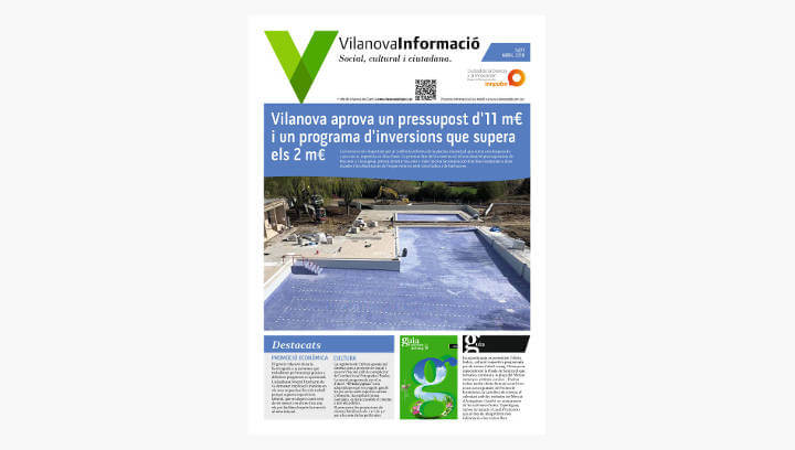 BUTLLETÍ Vilanova Informació n.277 Abril 2018