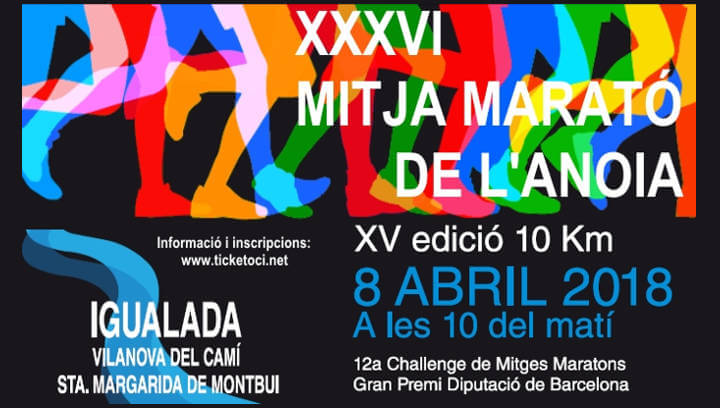 AVÍS – El pas de la Mitja Marató per Vilanova afectarà el trànsit entre les 10 i les 12 h