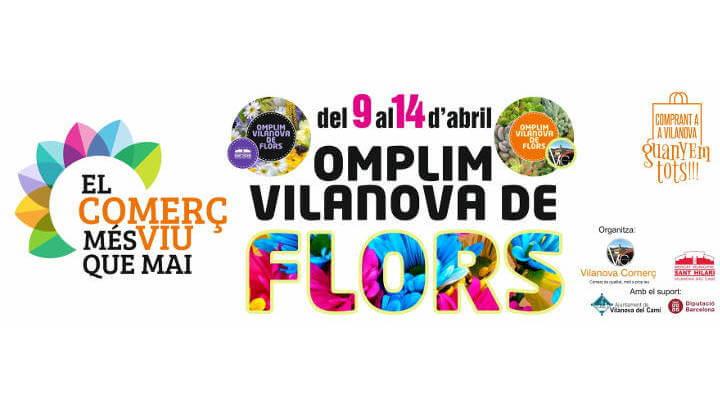 'Omplim Vilanova de flors', nova campanya del Mercat de Sant Hilari i Vilanova Comerç |ÀUDIO|
