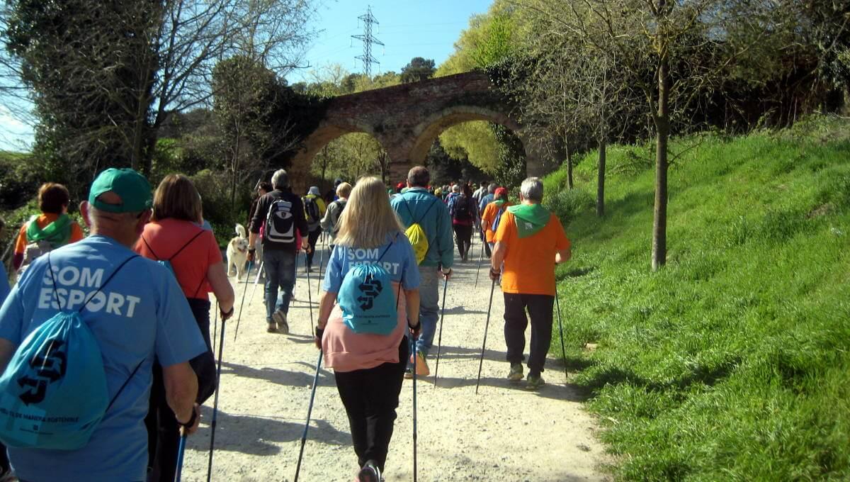 Vilanova del Camí donarà la sortida a un nou cicle de passejades 'A cent cap als cent'