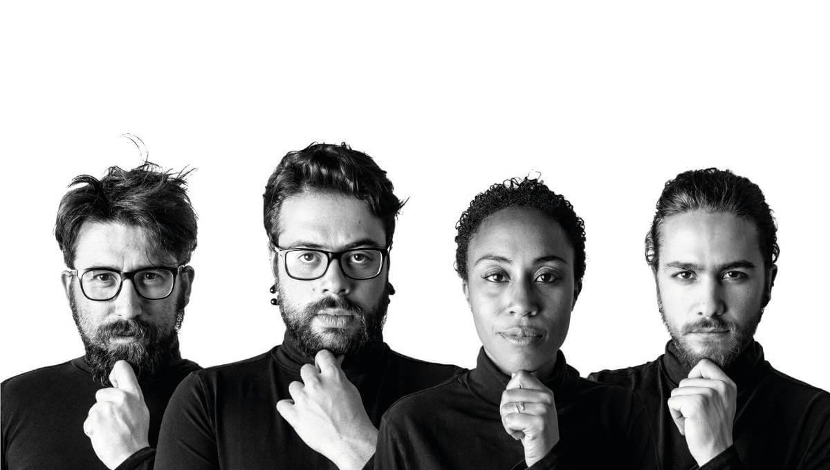 Els projectes a vuit mans de l'estudi de disseny Quartada es despullen a l'Empremta de Gràfiques Vilanova