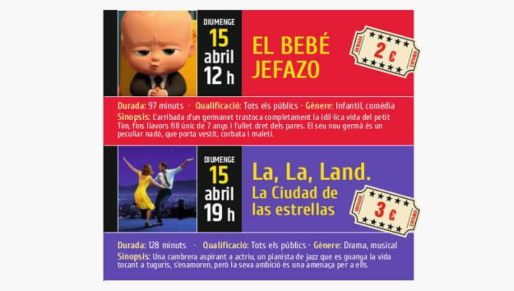 Doble proposta cinematogràfica amb 'El bebé jefazo' i 'La La Land' aquest diumenge al Vilacine