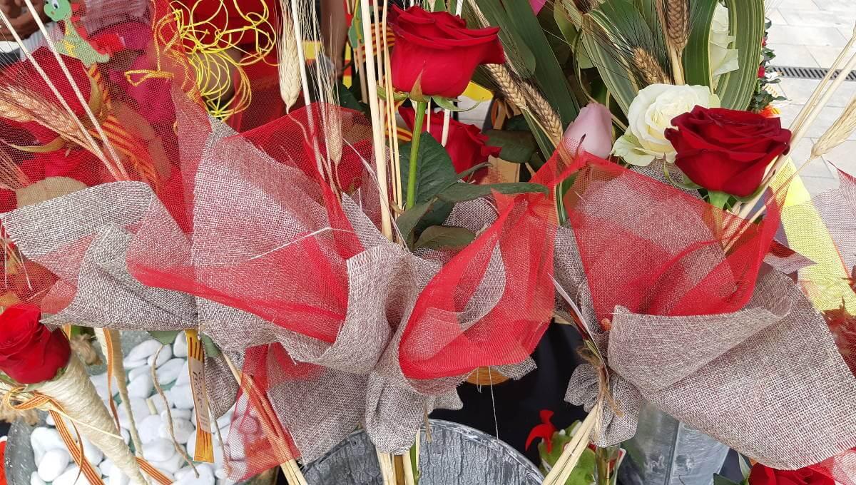 Innovació i creativitat tornen per Sant Jordi a la plaça del Mercat de Vilanova del Camí |ÀUDIO i FOTOS|