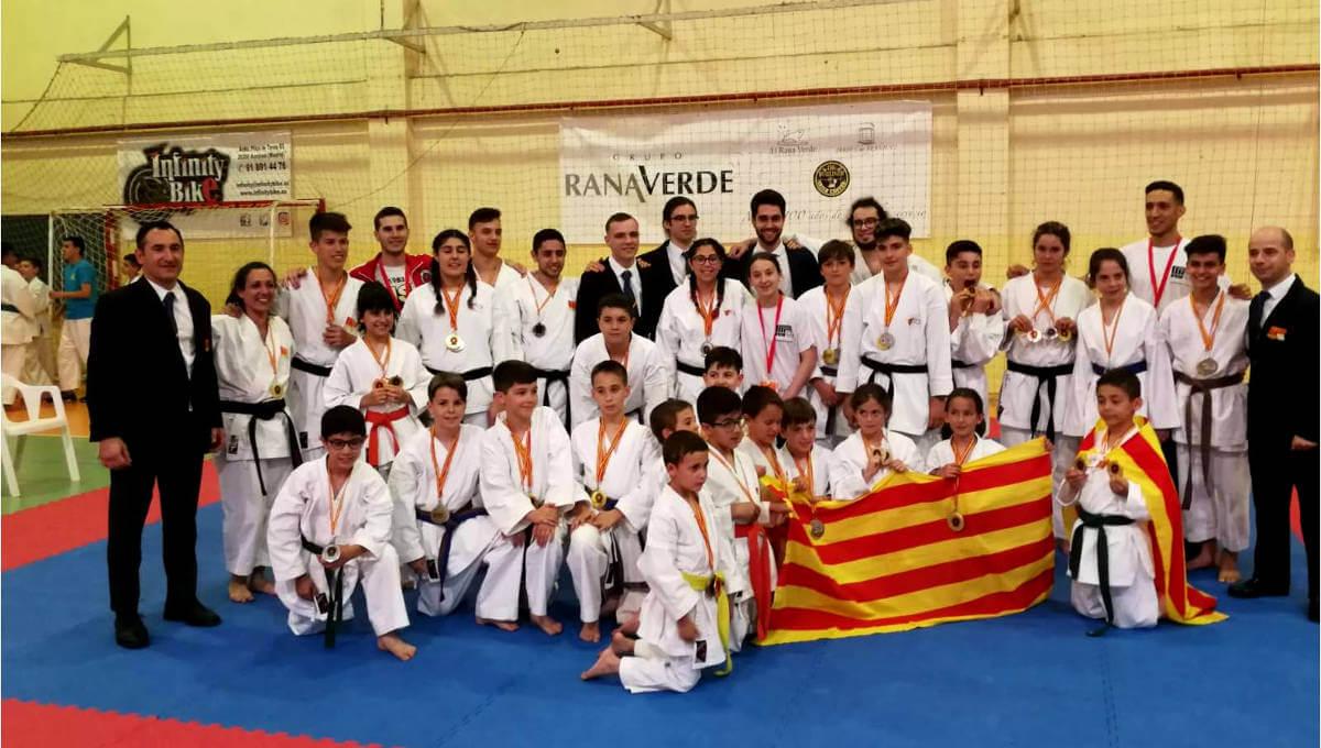 El CE Budokan de Vilanova del Camí domina el XIII Campionat d'Espanya de Nihon Tai-Jitsu