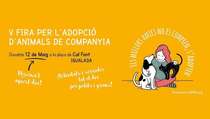 APAN organitza la V Fira per a l'adopció d'animals de companyia centrada en la tinença responsable |ÀUDIO|
