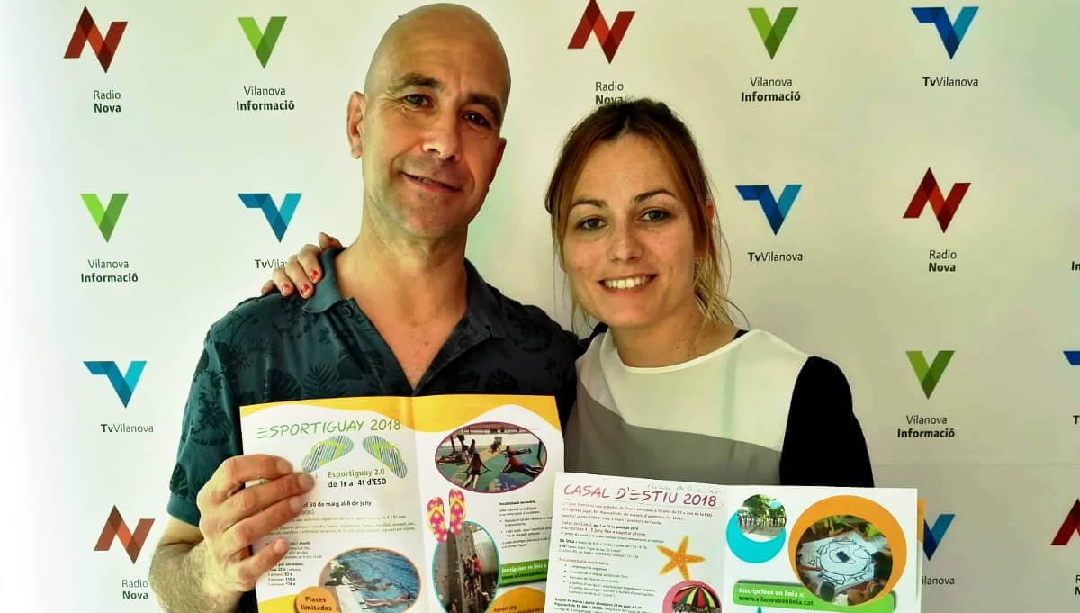 Vilanova obre les inscripcions a les activitats d'estiu amb l'atractiu afegit d'estrenar piscines noves |ÀUDIO|