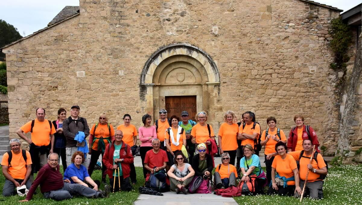 La Colla completa la 3a etapa del camí de Sant Jaume Català (Alt Empordà-Gironés)