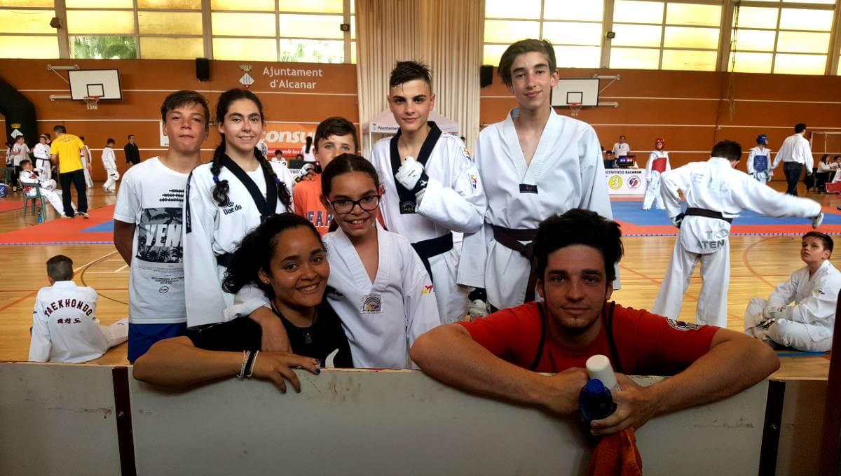Més medalles per al gimnàs Furio Jol a l'Open de Taekwondo d'Alcanar