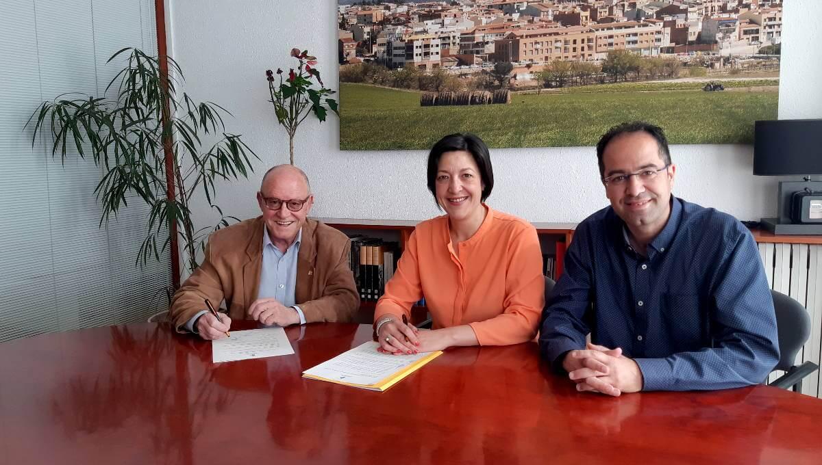 L'Ajuntament de Vilanova renova el seu compromís amb la Unió Turística Anoia