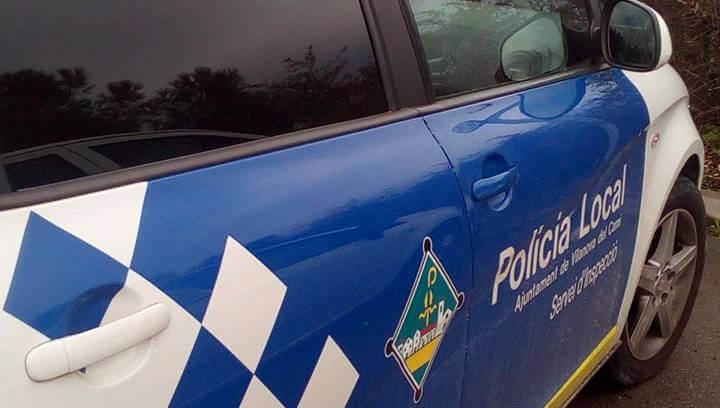 La Policia Local de Vilanova deté un jove vilanoví per presumpte robatori en un comerç local