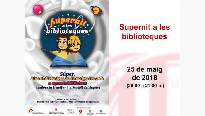 Els 'súpers' vilanovins també intentaran alliberar les seves heroïnes en la 'Supernit a les biblioteques'