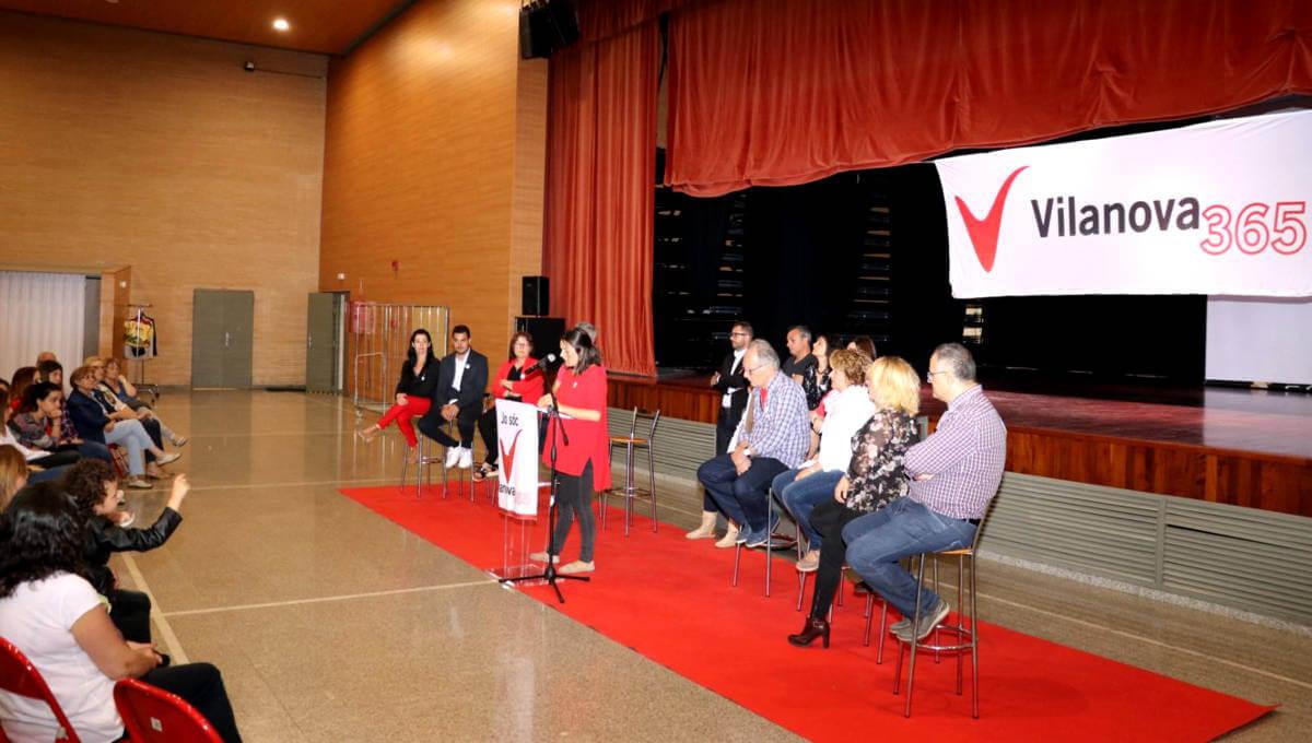 Un centenar de persones participen en l'assemblea oberta de Vilanova 365 a Can Papasseit
