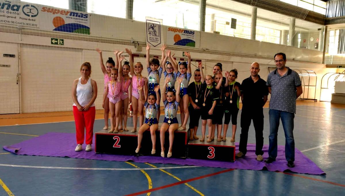 Gran èxit del III Trofeu gimnàstic Summer organitzat pel CG San Roque que dona la benvinguda al Club gimnàstic Ballerina