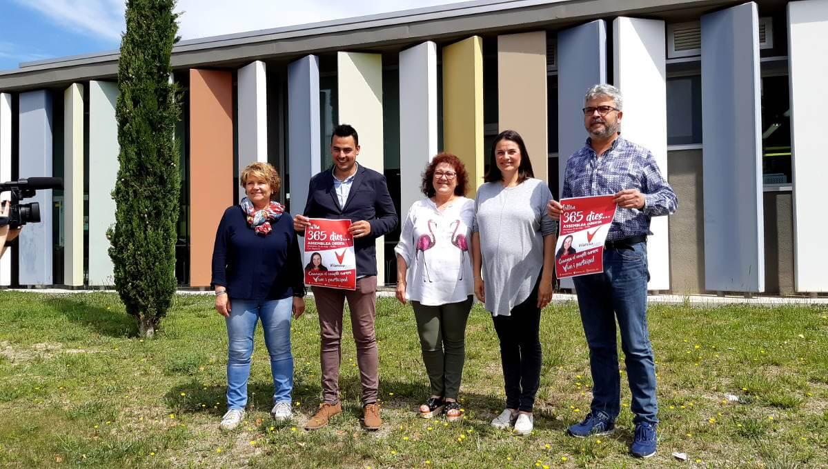 Vilanova 365 arrenca la campanya electoral aquest divendres amb una assemblea oberta a la ciutadania