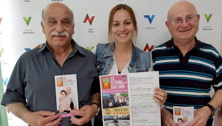 Vilanova es prepara per viure del 7 al 13 de maig la Setmana de la Gent Gran |ÀUDIO|