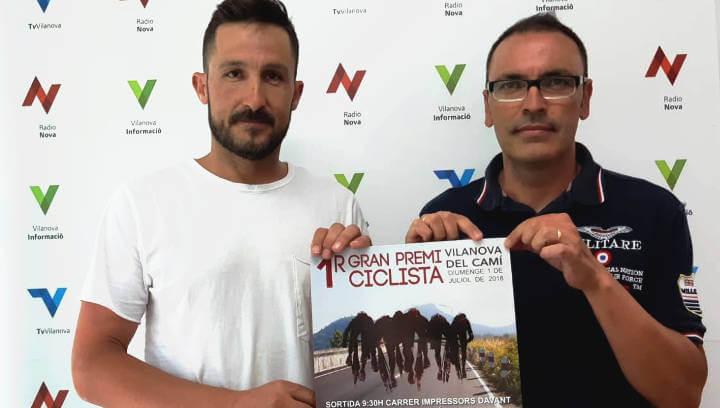Vilanova acull diumenge el 1r Gran Premi Ciclista per a màsters 40, 50 i 60 i puntuable per a la Challenge Veterans |ÀUDIO|