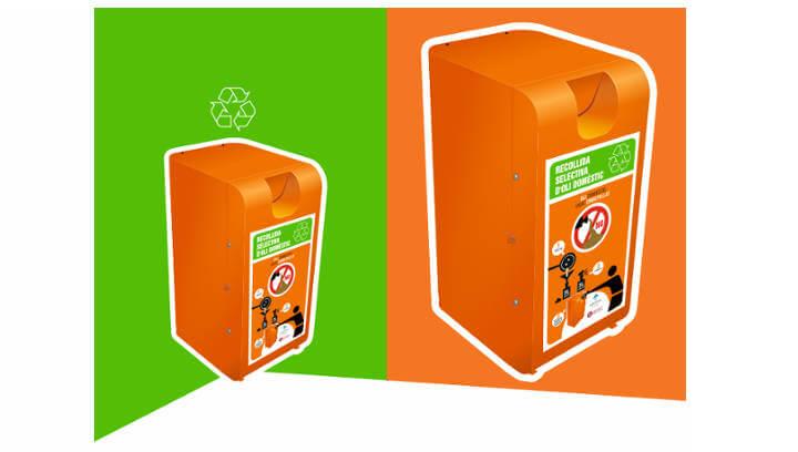 El regidor de Medi Ambient JM Cividanes anima la ciutadania a reciclar l'oli domèstic per minimitzar l'impacte mediambiental