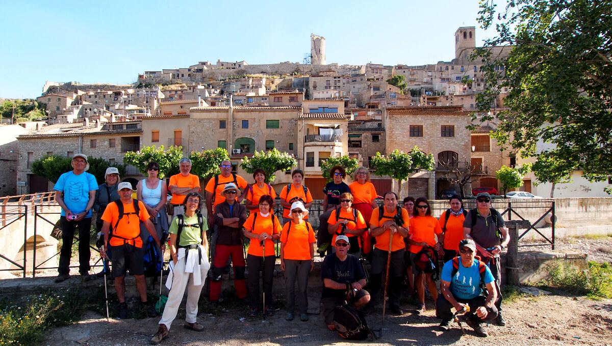 De Guimerà a Vallbona de les Monges (Urgell) amb la Colla Excursionista