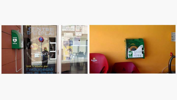 Vilanova continua cardioprotegint-se i suma dos nous DEA, un al camp de futbol i l'altra al centre cívic del barri La Pau
