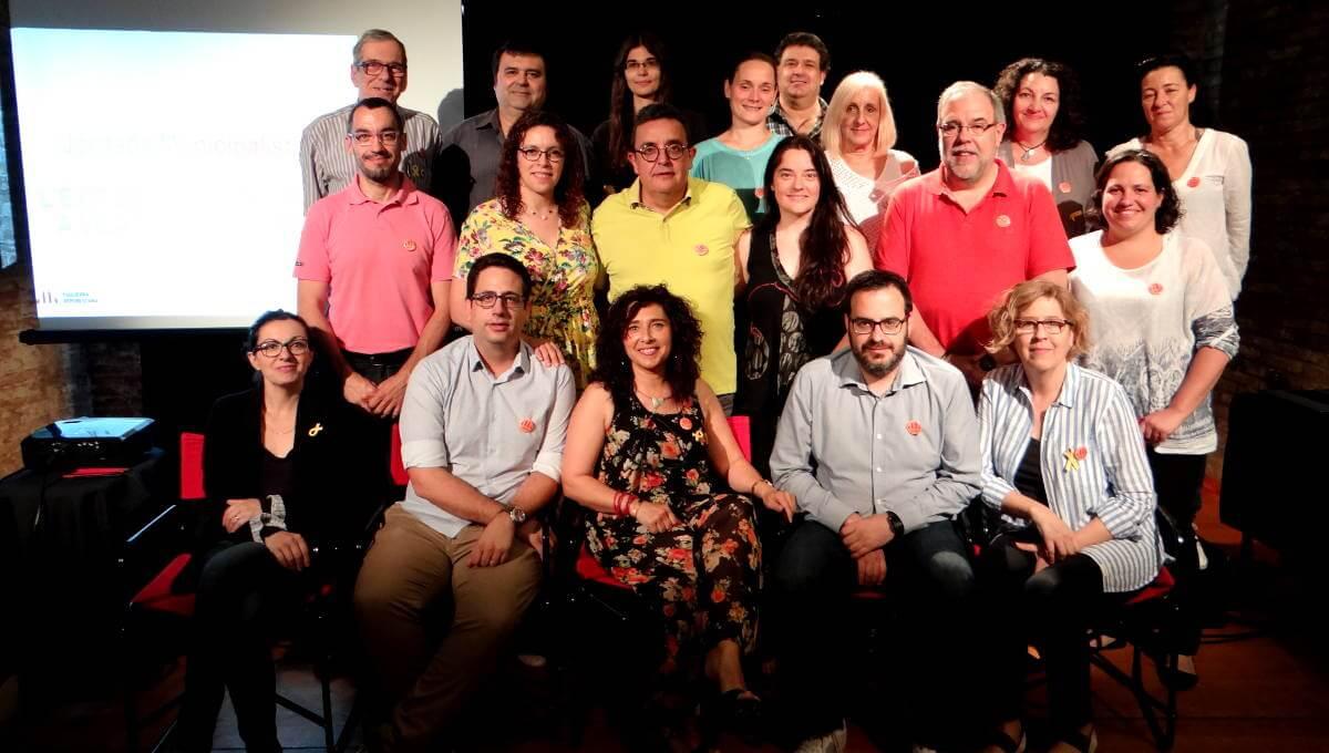 Jornada Municipalista d'Esquerra Vilanova del Camí amb la vista posada a les eleccions del 2019