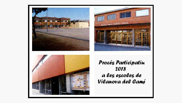 Les escoles traslladen a l'Ajuntament les propostes que prioritzen en el marc del procés participatiu