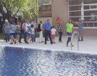 Inauguració de les piscines municipals de Can Titó