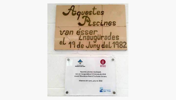 NOTA DE PREMSA | V365: Polèmica inauguració de la remodelació de la Piscina de Vilanova del Camí