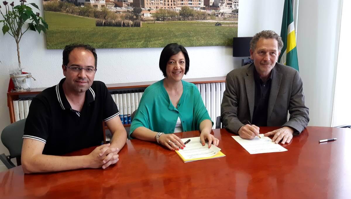 Vilanova compromès amb Ampans i el projecte de noves oportunitats per a joves