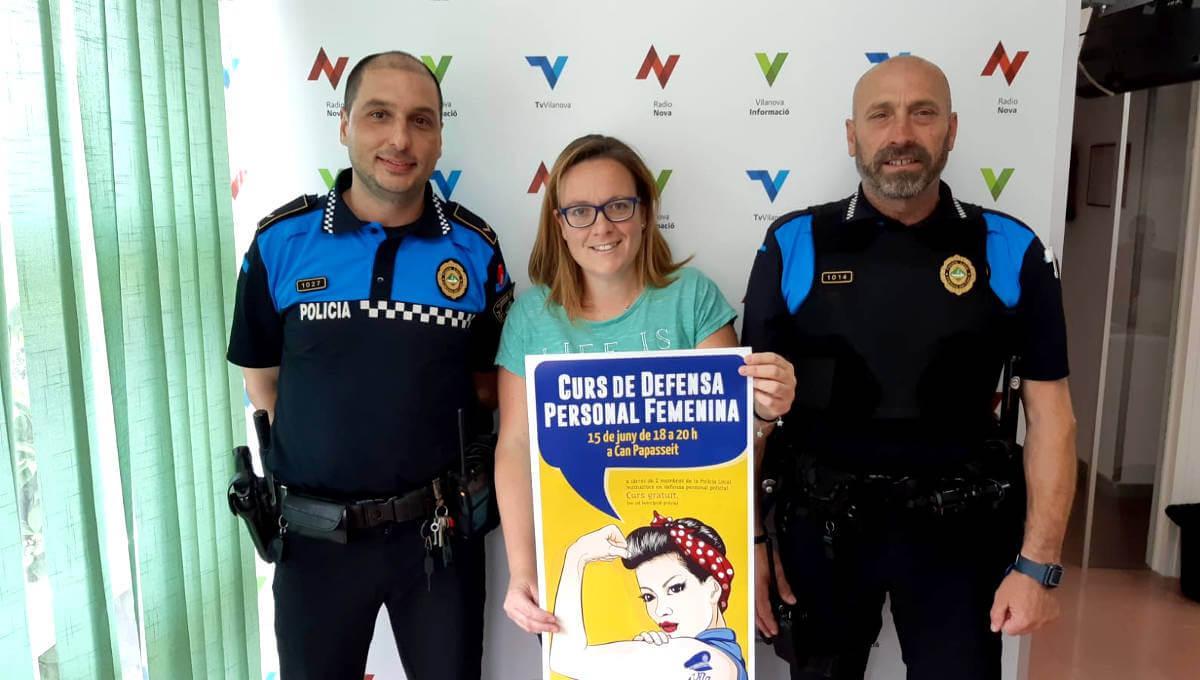 La bona acollida anima a repetir la sessió de defensa personal per a dones a càrrec de la Policia Local |ÀUDIO|