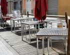Avui entra en vigor el nou horari de les terrasses instal·lades a la via pública