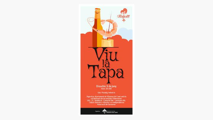 Les entitats vilanovines tornen als fogons per oferir el sopar 'Viu la tapa' al passeig de la Indústria |ÀUDIO|