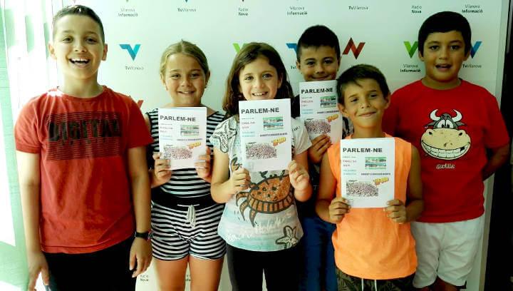 La classe de 3r B del Joan Maragall acomiada el curs amb el projecte 'Parlem-ne' i ens fa arribar el primer fanzine