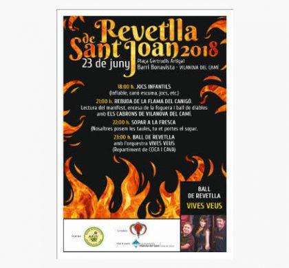 La flama tornarà a encendre la nit més curta de l'any al Barri Bonavista
