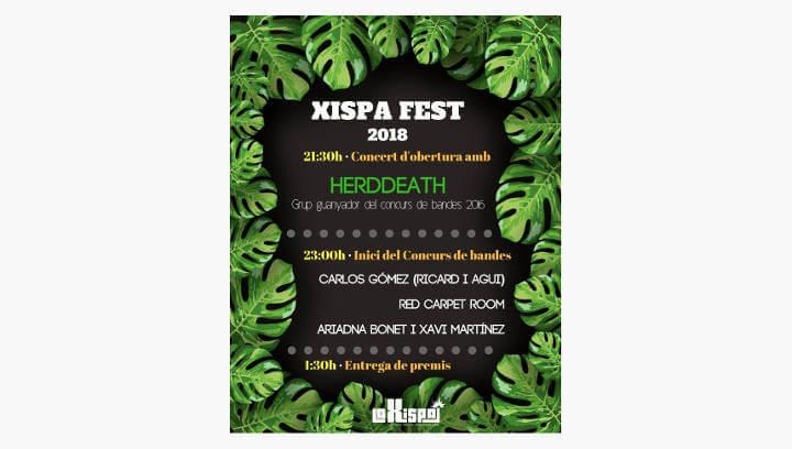 La Xispa dona la benvinguda a l'estiu amb una nova edició del concurs de bandes i el Holi Colors
