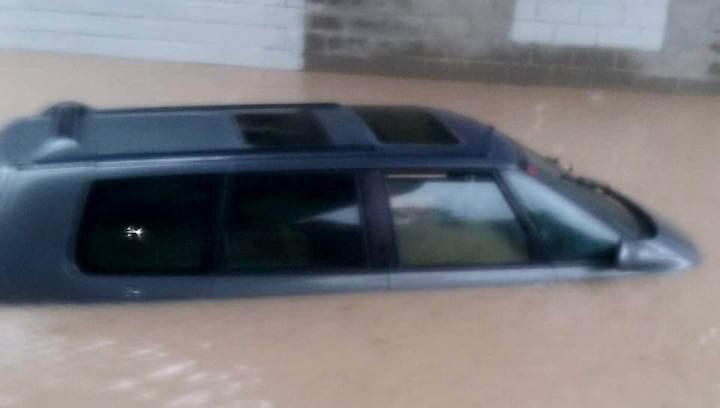 El temporal de pluja afecta baixos i magatzems del carrer Major així com les zones inundables |ÀUDIO|