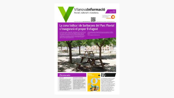 BUTLLETÍ Vilanova Informació n.279 Agost 2018