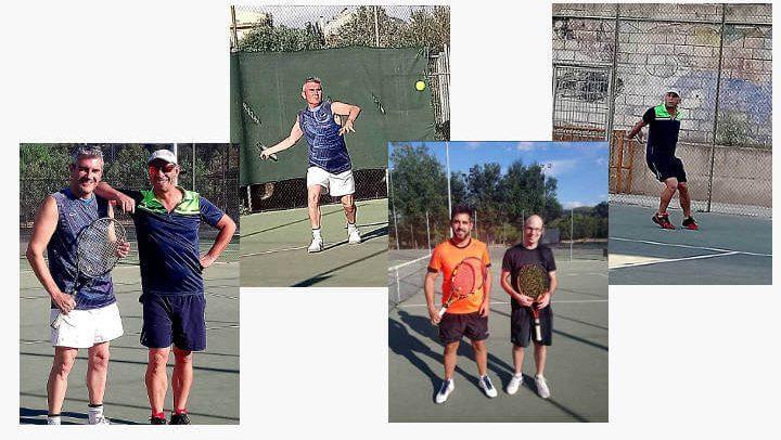 Bon joc a les finals del campionat d'estiu del Club Tennis Vilanova on Carles Rubio es proclama campió  ÀUDIO 
