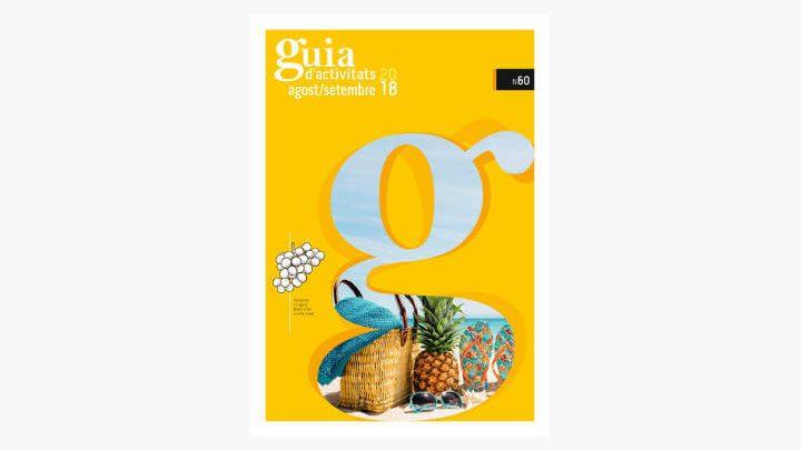 GUIA d'ACTIVITATS n.60 Agost i setembre de 2018