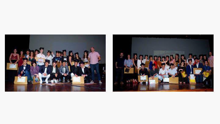 Can Papasseit s'omple dues vegades per acollir la festa de graduació dels alumnes de 4t d'ESO i 2n de batxillerat de l'INS Pla de les Moreres |ÀUDIO i FOTOS|