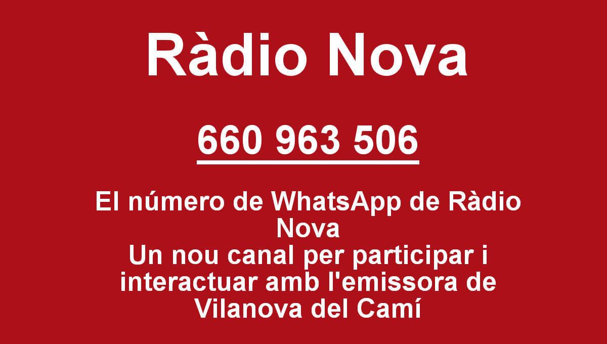 'La banda del tupperware' de Ràdio Nova estrena un canal de WhatsApp per interactuar amb l'audiència