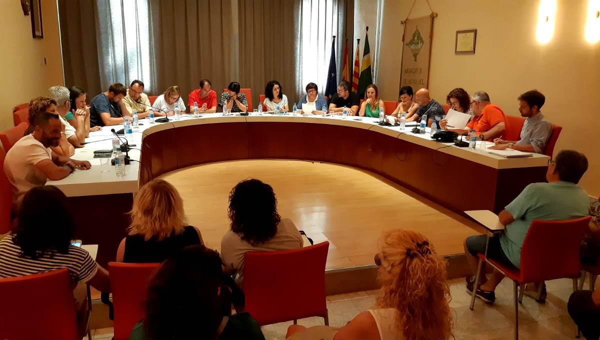 El Ple evidencia la divisió en el govern de Vilanova del Camí |VÍDEO|