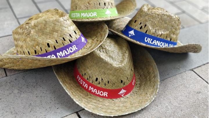 Fes-te amb el teu barret de palla i la teva samarreta de Festa Major