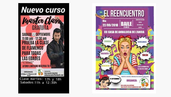 La Casa d'Andalusia es retroba després de l'estiu amb ball i màster de flamenc