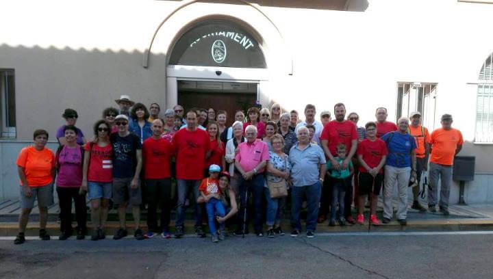 Una seixantena de persones de més de 20 municipis catalans van descobrir dissabte l'encant de Vilanova del Camí | FOTOS